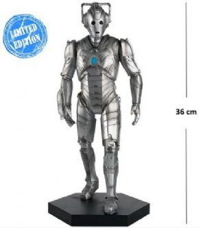 Doctor Who Figurine Collection Mega Cyberman Statue Eaglemoss